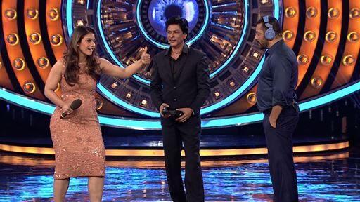 Dilwale SRK-KAJOL meet Gharwaale